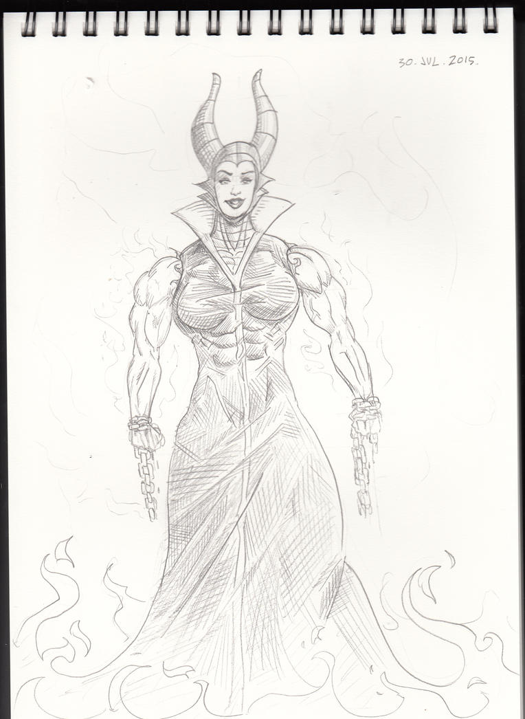 Maleficent sketch by Ritualist