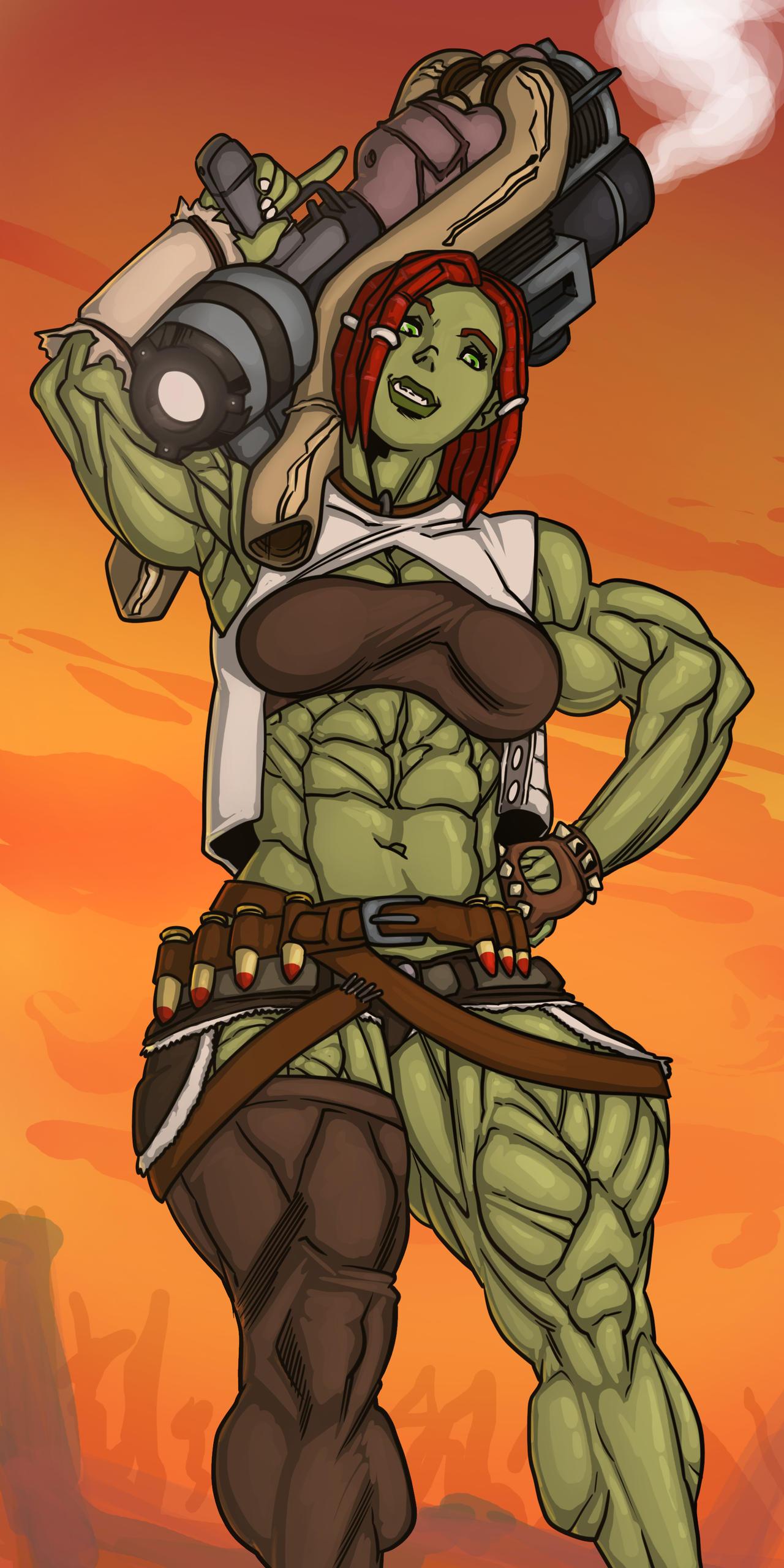 Female Super Mutant
