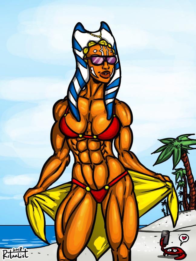 Summer Ahsoka by Ritualist