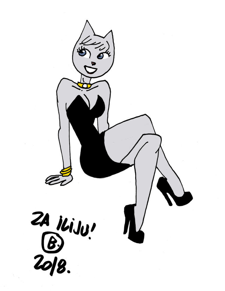 Andrea pin up by Ritualist
