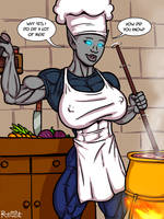 Nira cooking by Ritualist