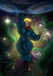 Holy Battle Virgin Mary by Zebodoy by Ritualist