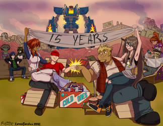 Megas XLR 15th Anniversary Collaboration by Ritualist