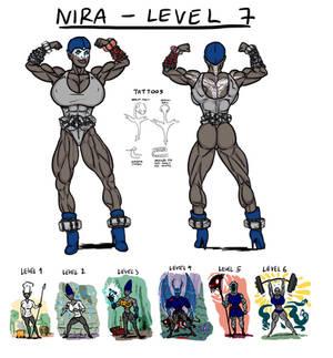 Nira hits level 7