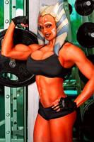 Ahsoka at the gym