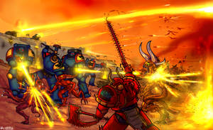 Space Wolves hold the line