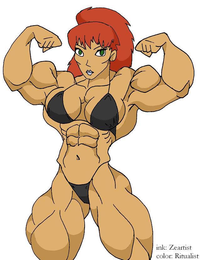 Kiva the bodybuilder 3 by Ritualist on DeviantArt