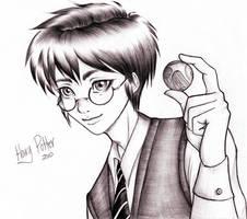 Harry Snitch by Scarlet-Adrianne