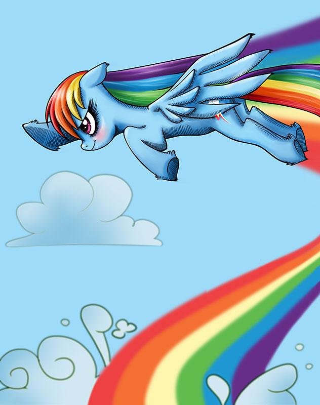 Rainbow dash by Scarlet-Adrianne