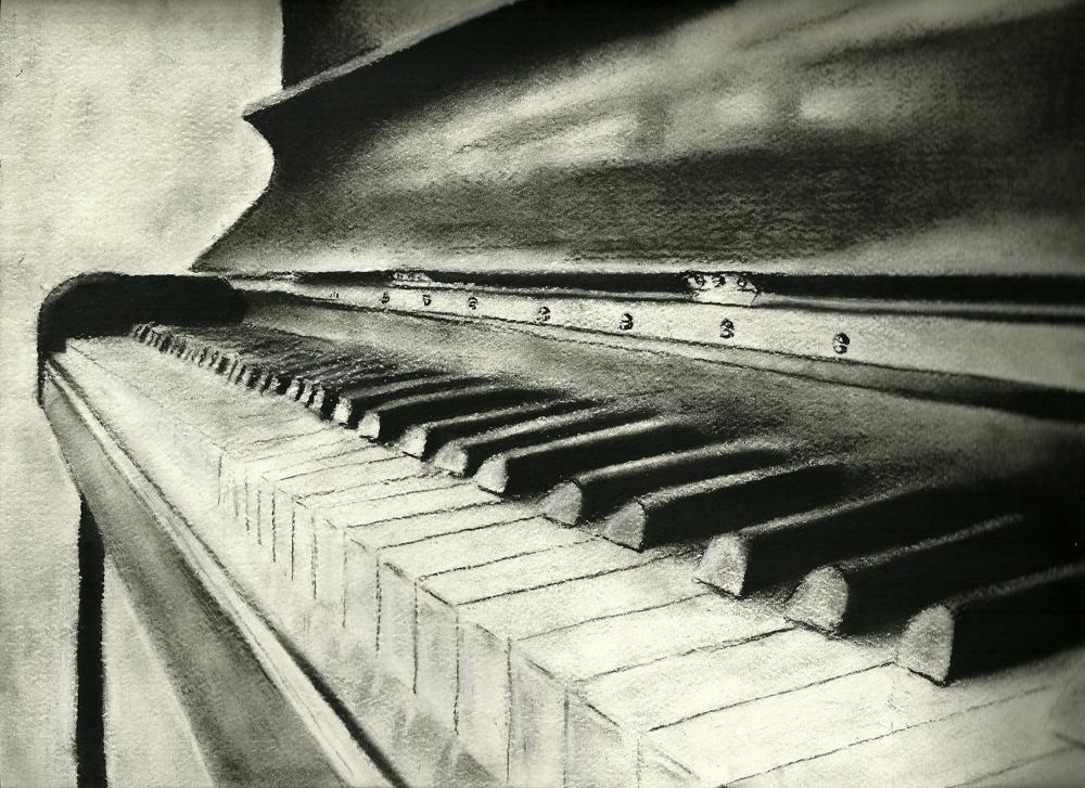 Piano, Detailed. by 0stargazer0 on DeviantArt