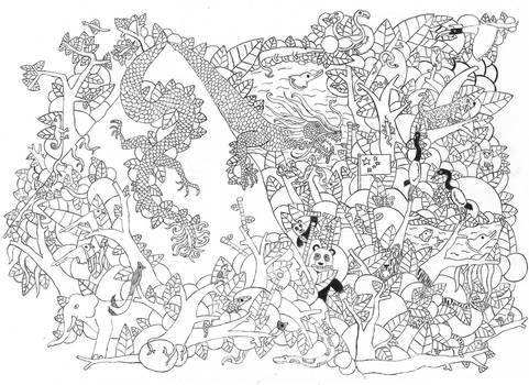 Doodle Art - China