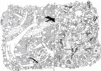 Doodle Art - Argentina
