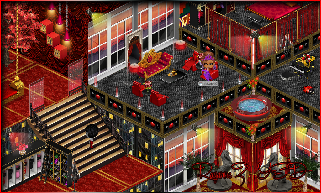 Yoworld Forums View Topic Rayannez Rooms And Avatars