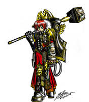 WH 40k Inquisitor Tolin by Amalgam-Images
