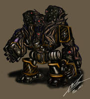 Obliterator Dreadnought by Amalgam-Images