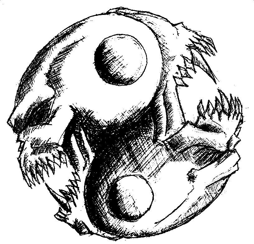 Cool Yin Yang Drawings