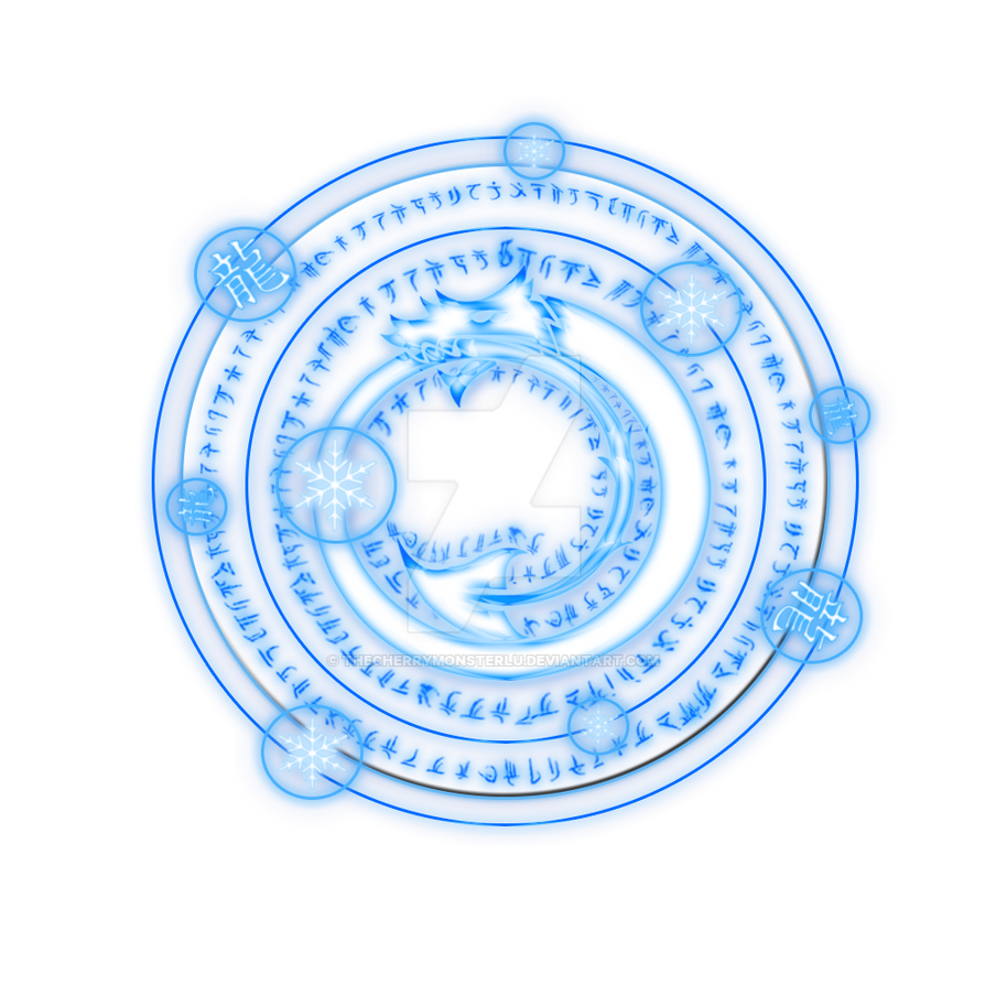 Ice Dragon Slayer Magic Circle ~Gift~ by ...
