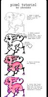 tori's pixel tutorial by parrotte