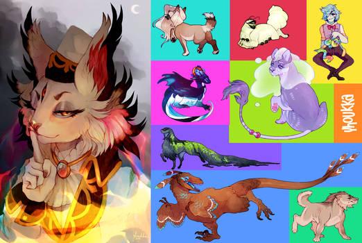 recent commissions