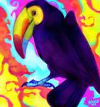 decembird 3 - colorful (keel-billed toucan)