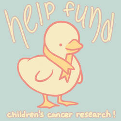 help fund children's cancer research! by parrotte