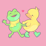 ducky and froggy
