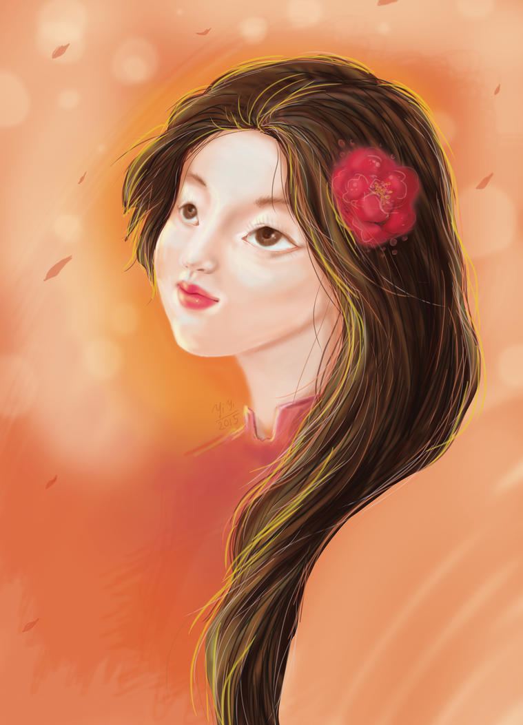 Co Hong The second Digital Painting by yibabii