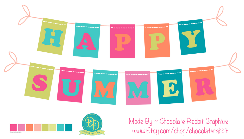 Happy Summer Freebie Download - PNG file by chocolate-rabbit on ...