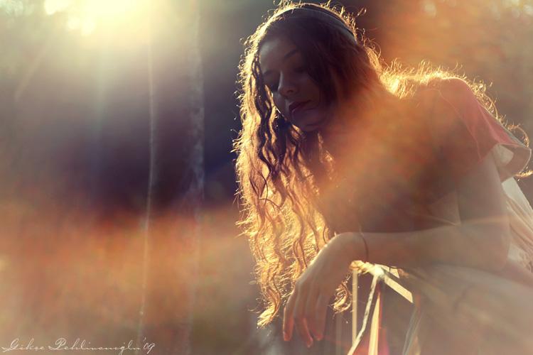 Prescilla, the rainbow girl by Anahita