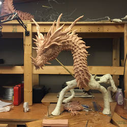 Ungotesluth, Dragon Titan WIP 3