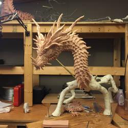 Ungotesluth, Dragon Titan WIP 3 by Tiamatus