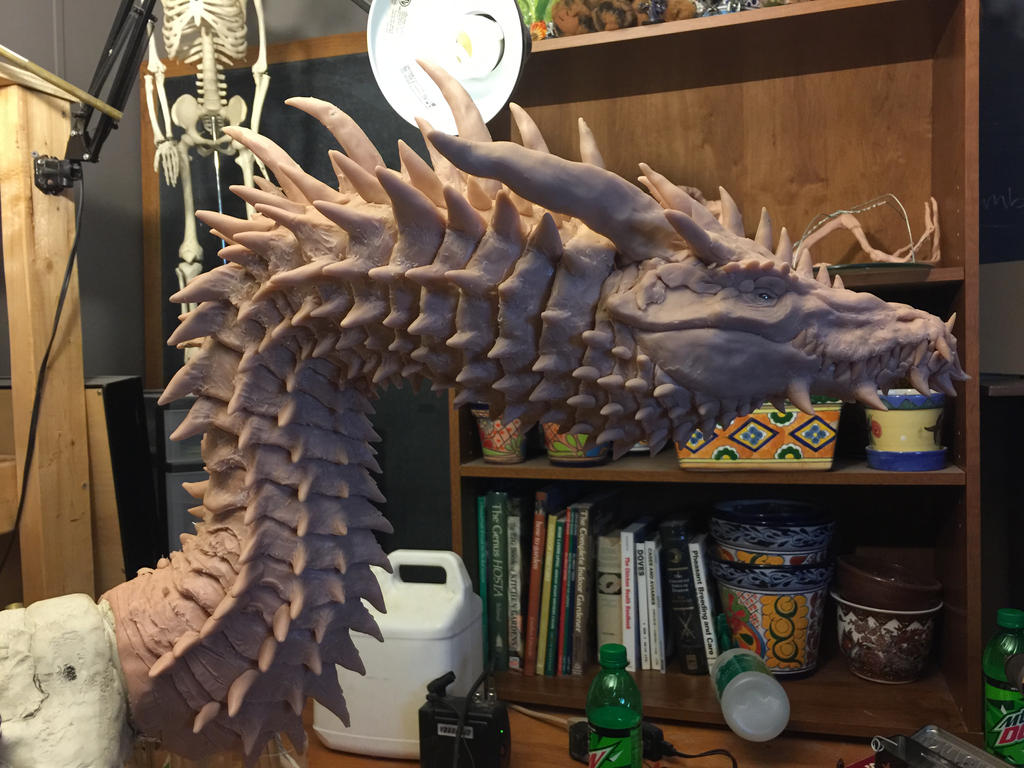Titan Dragon Wip 8 by Tiamatus