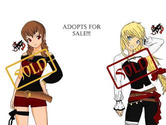 Adoptable Set 1 (SOLD) by Mihashi-Harumi-chan
