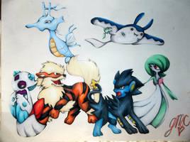 Cory's Pokemon College by BlackAngel101