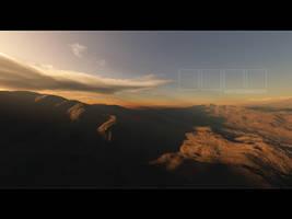 Desert Sunset by xpazeman