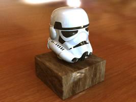 Storm Trooper Head by xpazeman