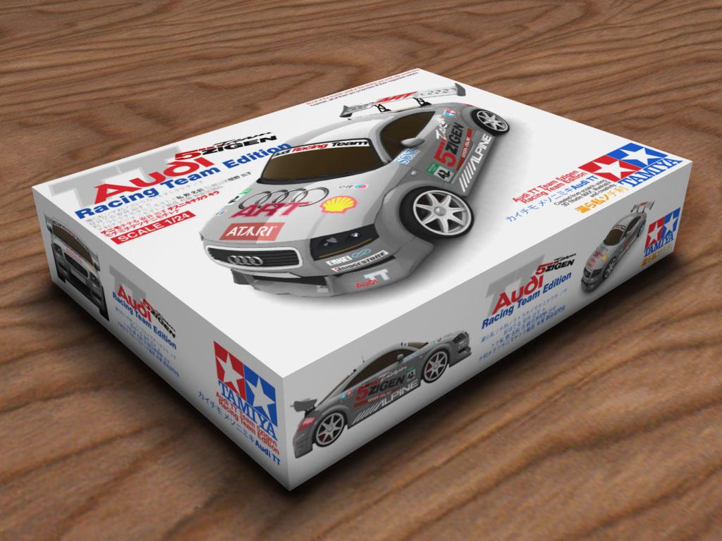 Tamiya Audi TT ART Edition