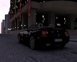 BMW Z4 in the city