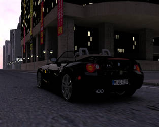 BMW Z4 in the city by xpazeman