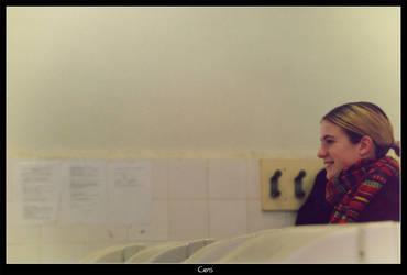 Cristina smiles by xpazeman