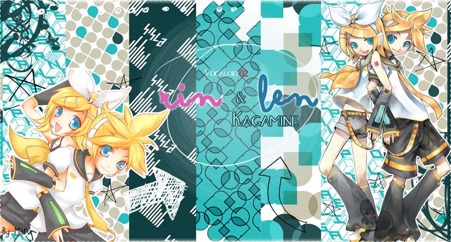 Kagamine Rin Cute Wallpaper Rin And Len Kagamine Wallpaper