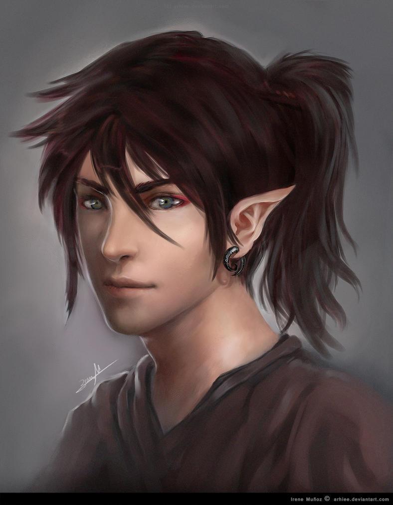 Ageha's Portrait by arhiee