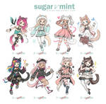 [ADOPTABLES] SUGAR and MINT [CLOSED]