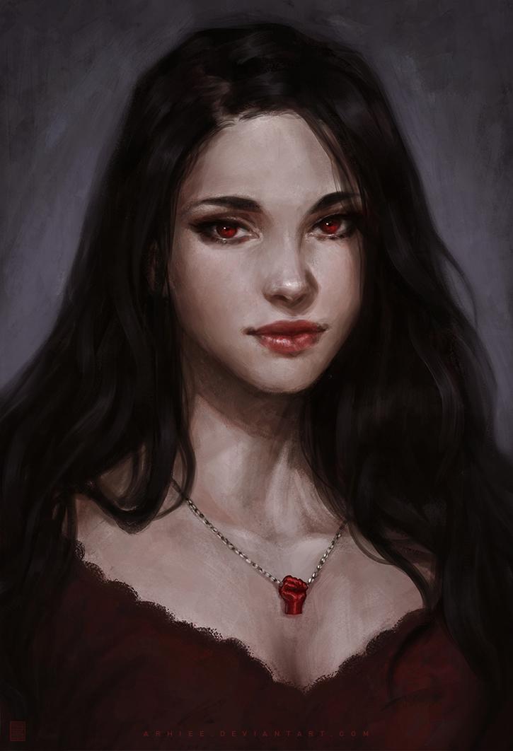 .: Bellamina's Blood Fist :. by arhiee