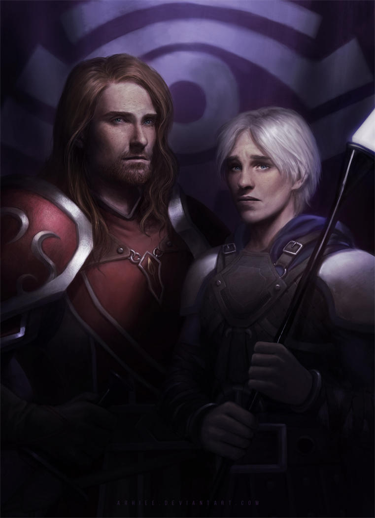 .: Ilmarinen and Istan :. by arhiee