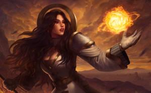 .: Firecaster Skyler :. by arhiee