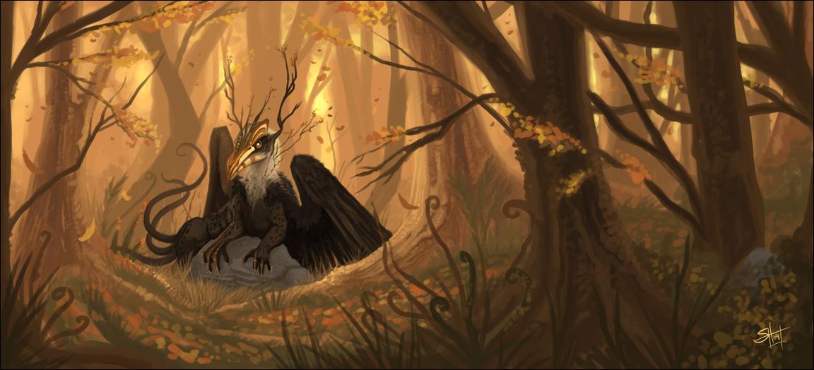 God of Autumn by silentkitty
