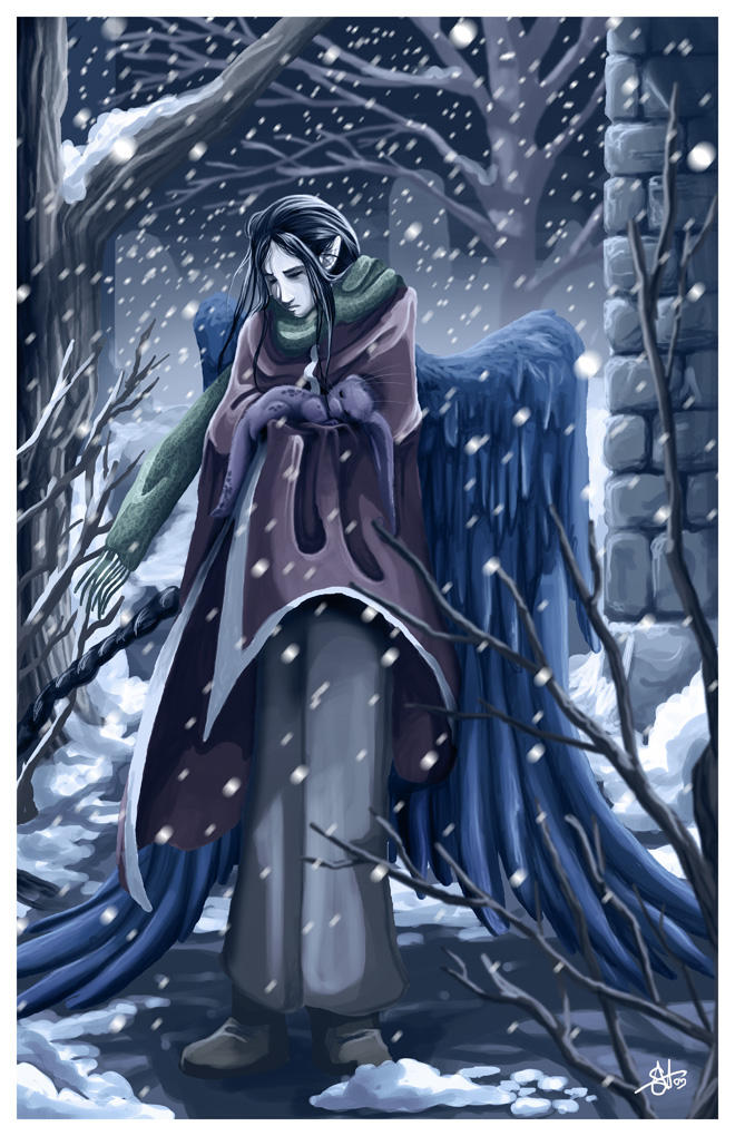 Winter In Cajor - Color by silentkitty