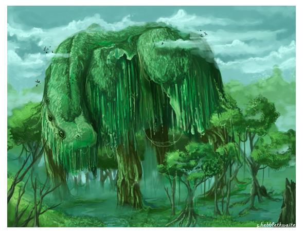 Swamp Beast - Fix by silentkitty