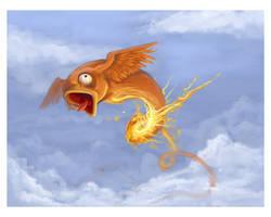 Fire Bird by silentkitty